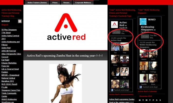 Active Red Blog