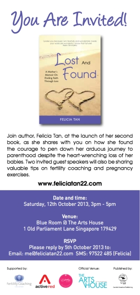 Lost and Found - Invite Card_Booklaunch