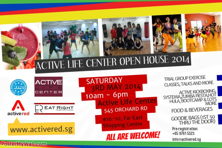 Active Life Center Open House 2014 Flyer