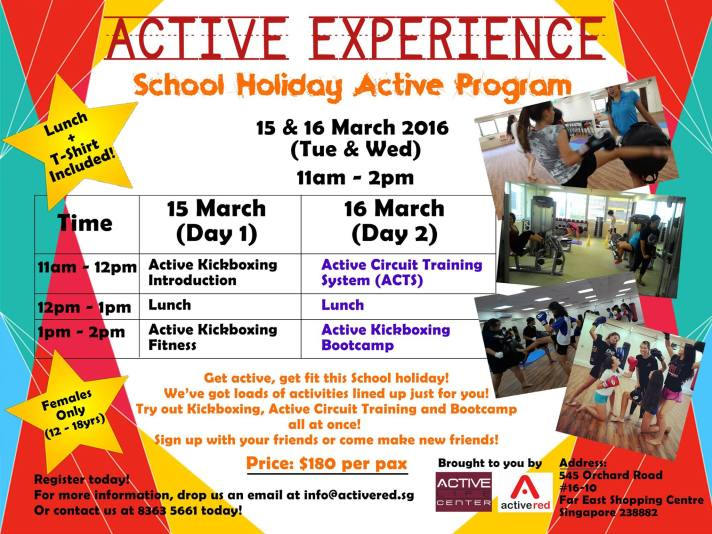 Active Experience_March 2016 poster