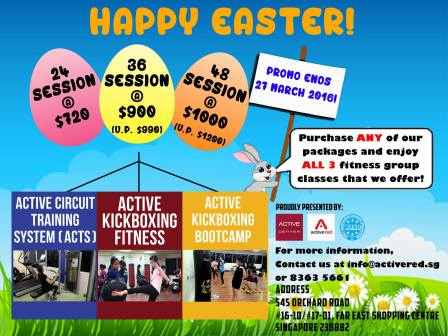 Easter Promo 2016
