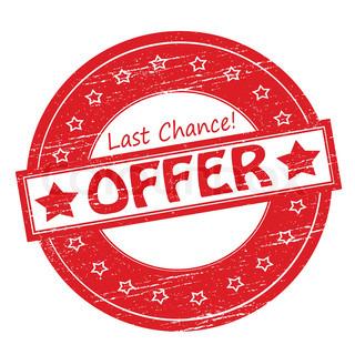 Last day offer logo