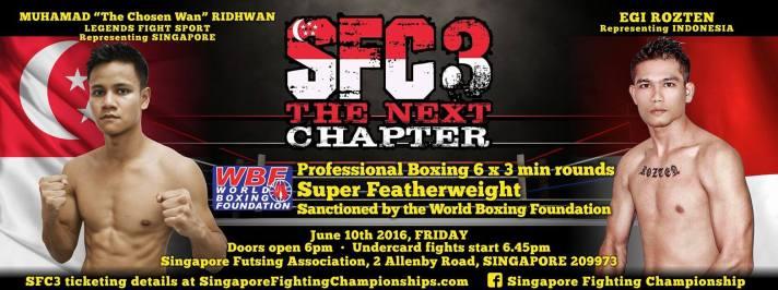 SFC Fightcard 3