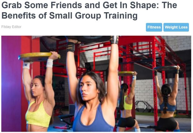 Small Group Training Article - Fitday.JPG