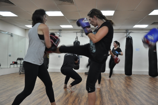 Active Red / WAKO Kickboxing Singapore - Kickboxing Masterclass Roundhouse 3