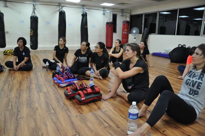 Active Red / WAKO Kickboxing Singapore - Kickboxing Masterclass Roundhouse 2