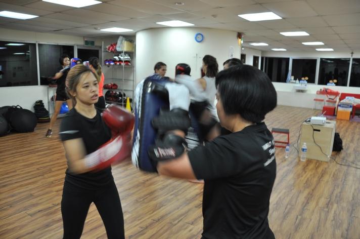 Active Red / WAKO Kickboxing Singapore - Kickboxing Masterclass Roundhouse 5