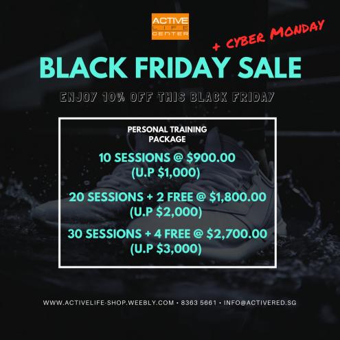 Black Friday 2017 Sale promo (PT)