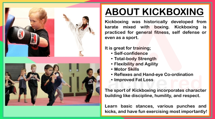 Active Red Gym and Kickboxing Fitness - Kids Kickboxing