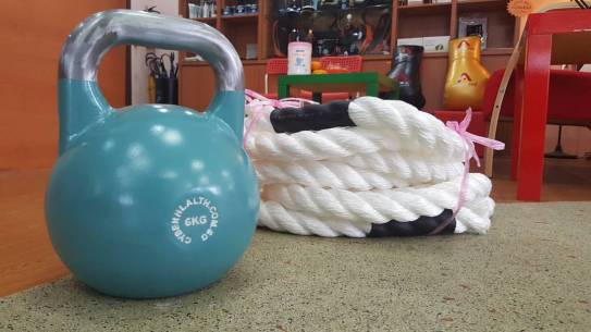 Active Red Gym and Kickboxing Fitness - Ladies Kickboxing Bootcamp Group Exercise (Battle Rope and Kettle Bell)