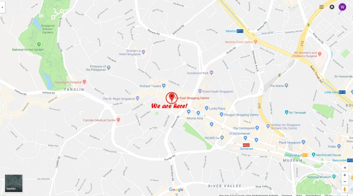Orchard Map_2(Google Maps)