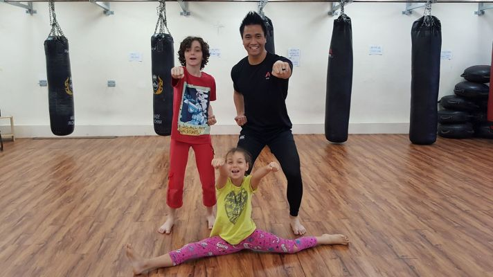Active Red Gym and Kickboxing Fitness - Kids Kickboxing Class in Orchard