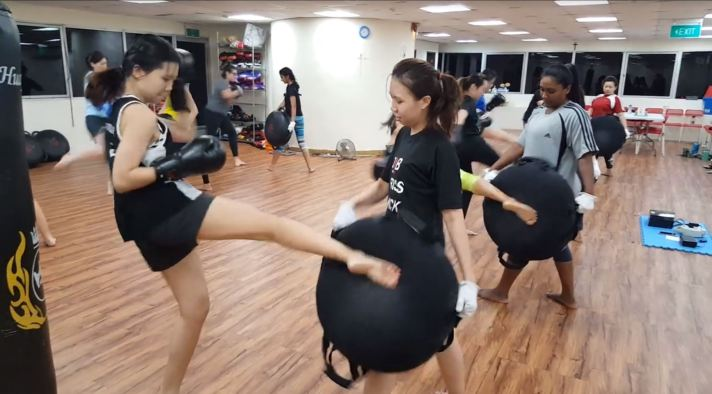 Active Red Kickboxing Gym and Fitness - Female Kickboxing in Orchard