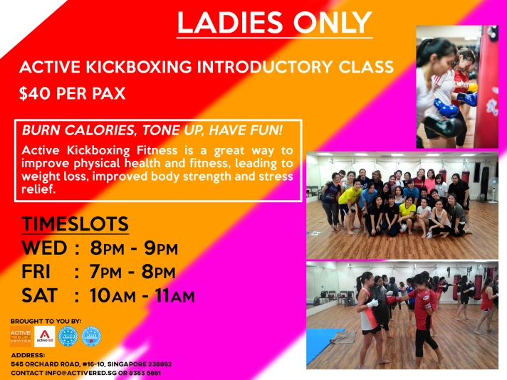 Active Red Gym and Kickboxing Fitness - Ladies Only Kickboxing Gym and Group Class