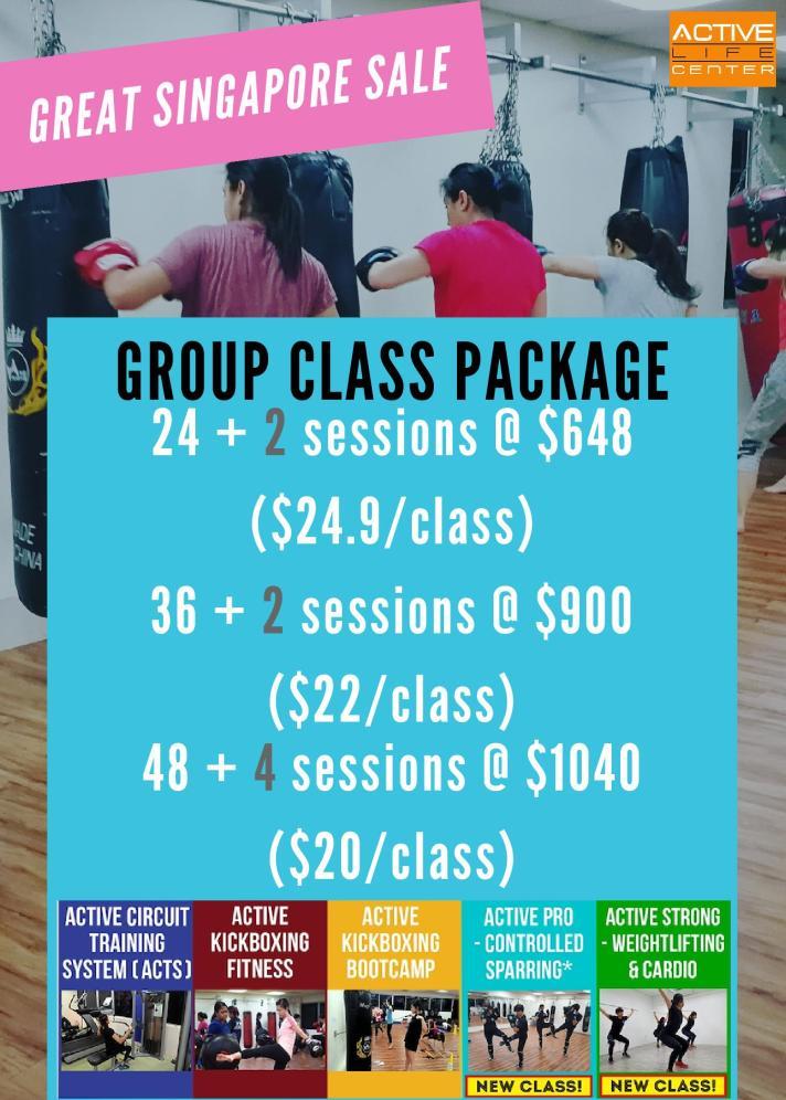 Great Singapore Sale 2018- Grp Class